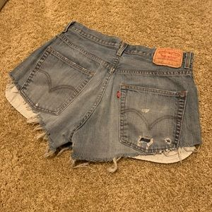Levi Denim Shorts - READ Description